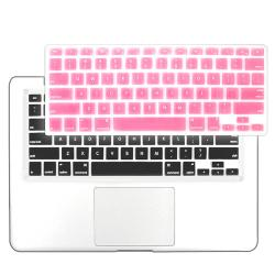 BasAcc Light Pink Silicone Keyboard Skin Shield for Apple MacBook Pro