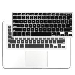 BasAcc Black Silicone Keyboard Skin Shield for Apple MacBook Pro