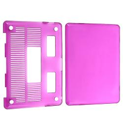 BasAcc Clear Purple Snap-on Case for Apple MacBook Pro 13-inch