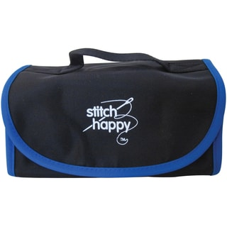Stitch Happy Fold N Go Notions Box-Black/Blue
