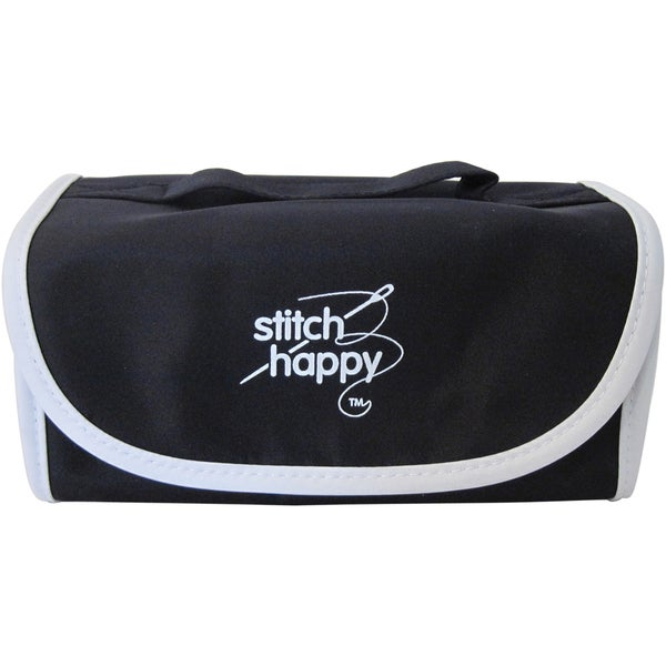 Stitch Happy Fold N Go Notions Box-Black/White