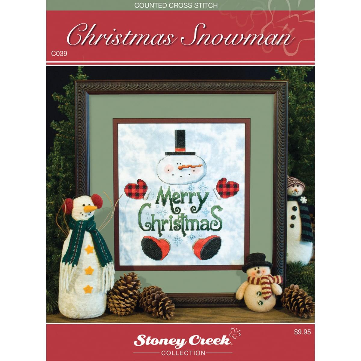 Stoney Creek Chart Packs-Christmas Snowman