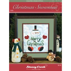 Stoney Creek Chart Packs-Christmas Snowman