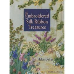 Milner Craft Series Books-Embroidered Silk Ribbon Treasures