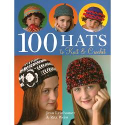 Sterling Publishing-100 Hats To Knit & Crochet
