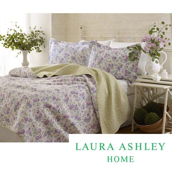 Laura Ashley Annabella Quilt Set