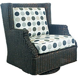 Outdoor Terrace Swivel Rocker