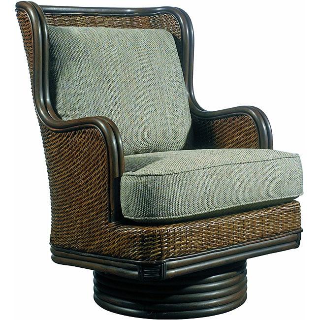 Outdoor bistro chair - Outdoor Palm Beach Swivel Rocker 14287854 Overstock