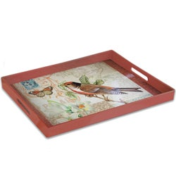 Notions by Jay 'Meadow Scene' Serving Tray