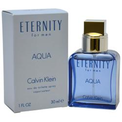 Calvin Klein Eternity Aqua Men's 1-ounce Eau de Toilette Spray