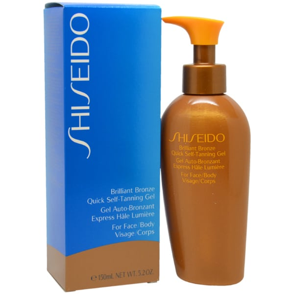 Shiseido Brilliant Bronze Quick 5-ounce Self-Tanning Gel