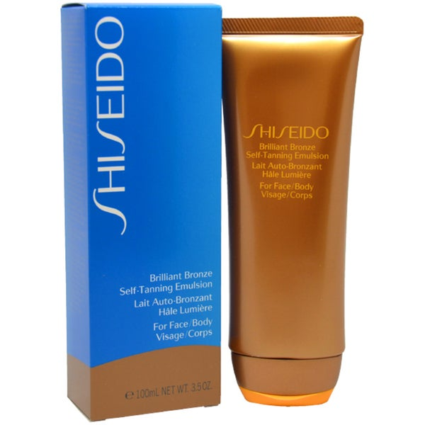 Shiseido Brilliant Bronze Self-tanning Emulsion 3.5-ounce Tanner