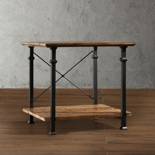 TRIBECCA HOME 'Myra' Vintage Industrial Modern Rustic End Table