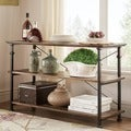 TRIBECCA HOME Industrial TV Stand