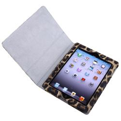 INSTEN Black/ Yellow Leather Case Cover/ Screen Protector/ Wrap for Apple iPad 2/ 3/ 4
