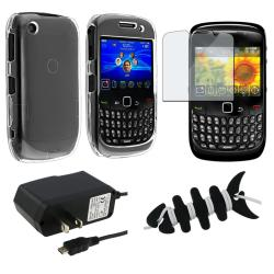 Case/ Screen Protector/ Wrap/ Charger for BlackBerry Curve 8520/ 9300