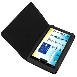 BasAcc Black Leather Case for Archos 101 Internet Tablet