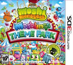 NinDS 3DS - Moshi Monsters Theme Park