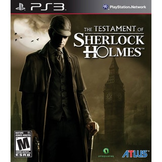 PS3 - The Testament of Sherlock Holmes