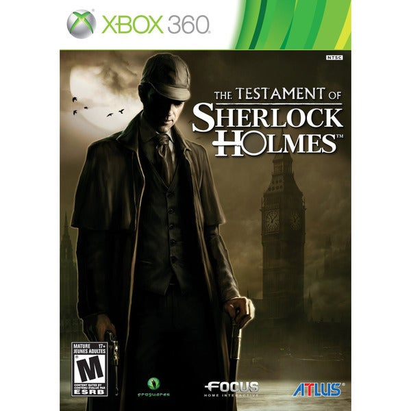 Xbox 360 - The Testament of Sherlock Holmes