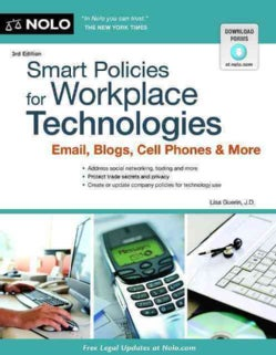 Smart Policies for Workplace Technologies: Email, Blogs, Cell Phones & More (Paperback)