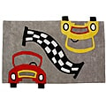 Jovi Home Hand-tufted Race Car Cotton Rug (3' x 5')