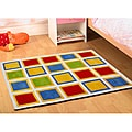Jovi Home Hand-tufted Square Play Cotton Rug (3' x 5')