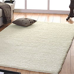 Jovi Home Handmade Off-white Wool Rug (5' x 8')
