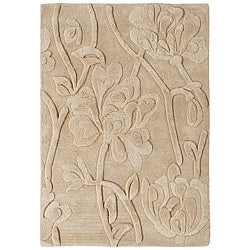 Jovi Home August Hand-tufted Off-white Wool Rug (4' x 6')