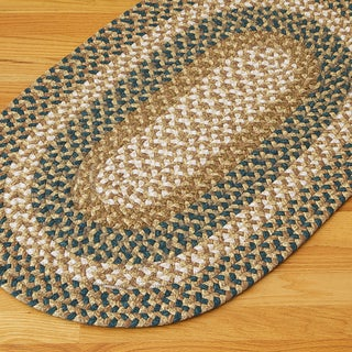 Gourmet Blue Accent Area Rug (8' x 11')