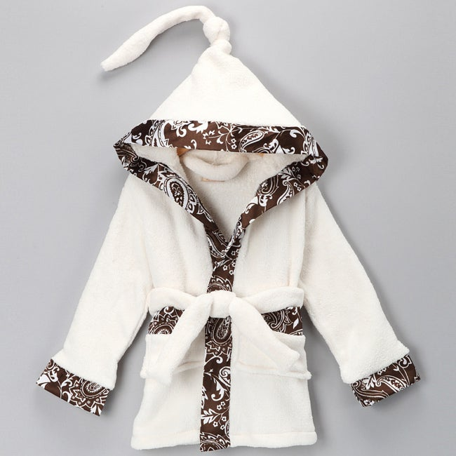 Mia Belle Baby Plush Kids Robe