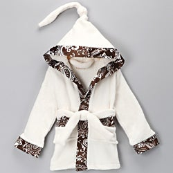 Mia Belle Baby Plush Kids Robe