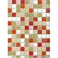 Brio Modwalls Sofia 3/4-inch Glass Tile (Pack of 20)