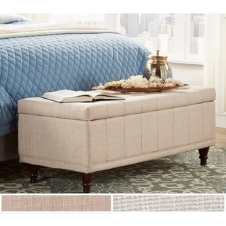 INSPIRE Q St Ives Lift Top Tufted Storage Bench
