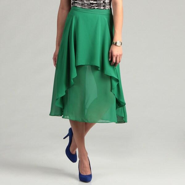 Jessica Simpson Junior's Asymmetrical Detail Skirt