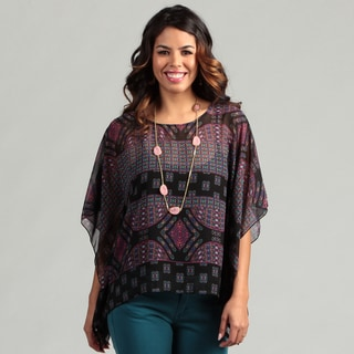 Jessica Simpson Junior's Geometric Printed Caftan