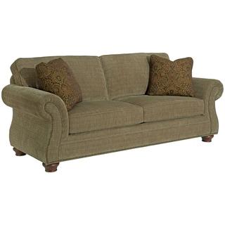 Broyhill Lauren Olive Sofa