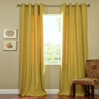 Citron Cotenza Grommet Curtain Panel