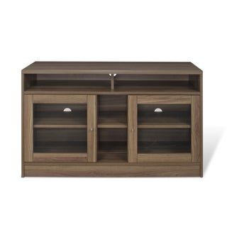 J & K Walnut Laminate 47-inch TV Cabinet