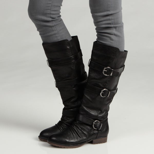 Steve Madden Women's P-Bennett Boots
