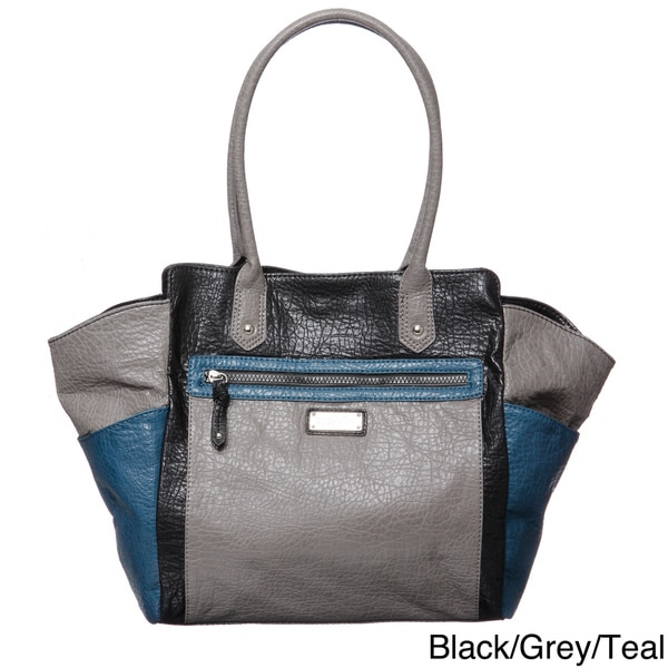 Kenneth Cole Reaction Step Up Colorblock Tote Bag