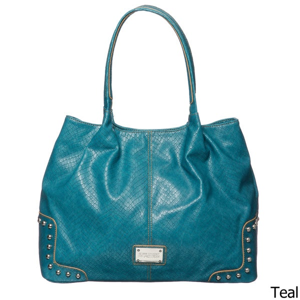 Kenneth Cole Reaction Counterpoint Tonal Stud Tote