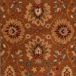 Hand-tufted  Kings Bay Semi-worsted New Zealand Wool Rug (5' x 8')