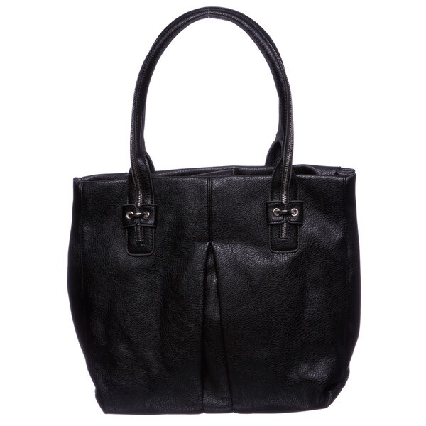 Jessica Simpson 'Zip Me Up' Black Tote Bag