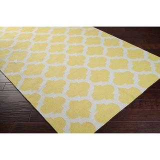 Caroni Trellis Flatweave Wool Area Rug (5' x 8')