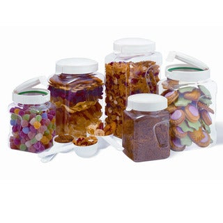 Snapware Airtight 10-piece Plastic Canister Set
