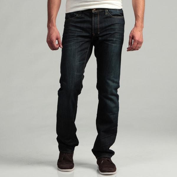 Projek Men's Dark Blue Denim Jeans