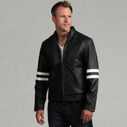 Tanners Avenue Men's Genuine Leather Moto Jacket