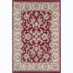 Mandara Traditional Red Oriental Rug (4' x 6')