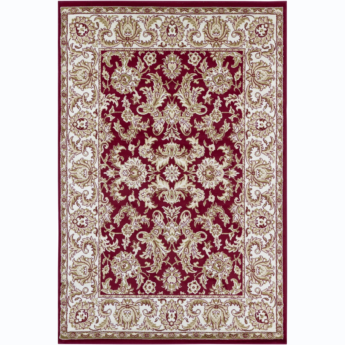 Artist's Loom Indoor Traditional Oriental Rug (4' x 6')